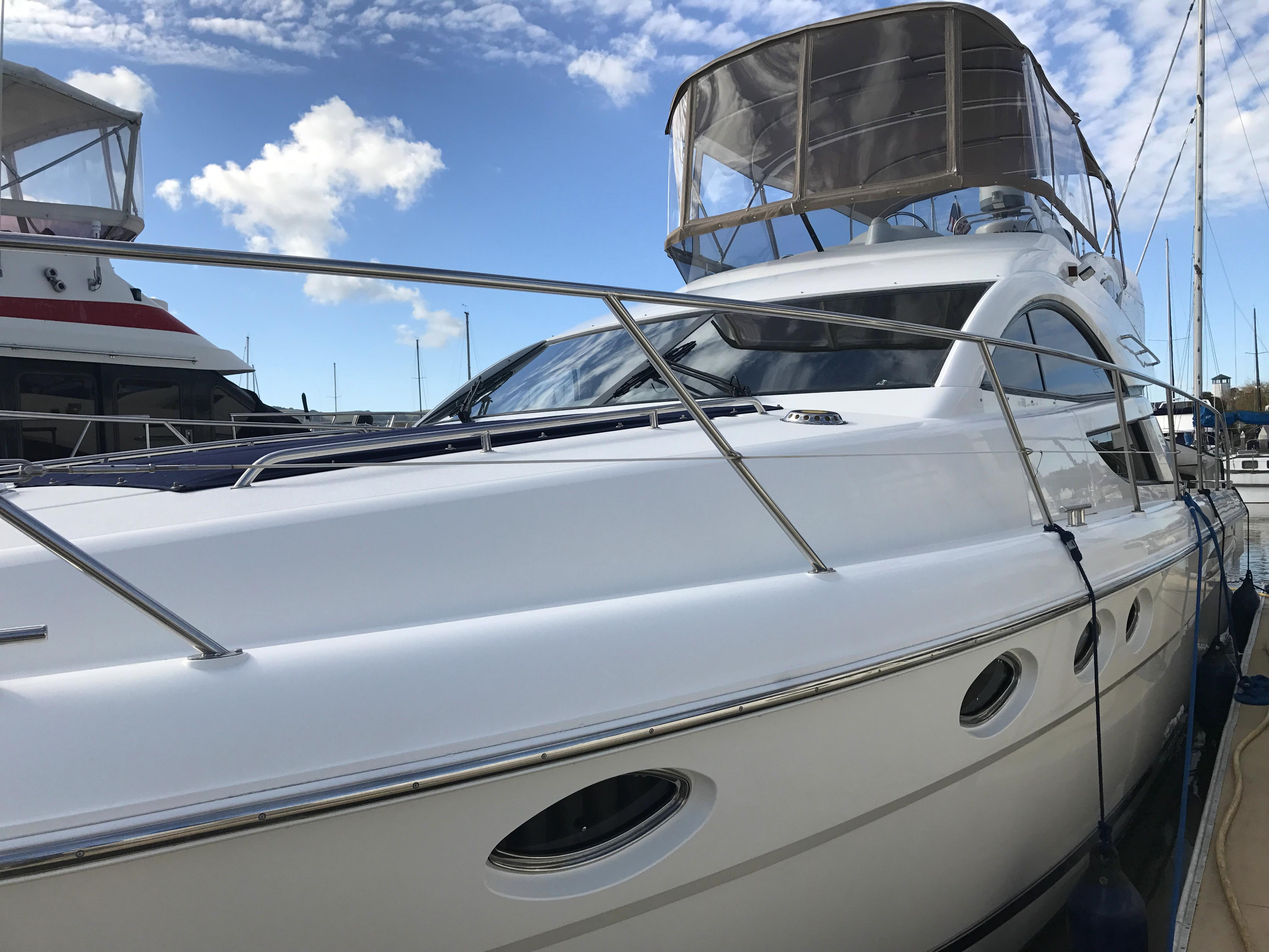 Used new fairline phantom 46 luxury motor yacht buy for Luxury motor yachts for sale